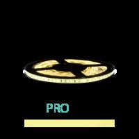 1M - LED Strip Set 3528 - PRO - IP20 - WARM WIT (3000K) 12V