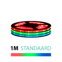 1M - LED Strip Set 5050 - STANDAARD - IP20 - RGB 12V