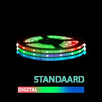 2M - LED Strip Set 5050 - STANDAARD - IP20 - DIGITAAL 12V ZW