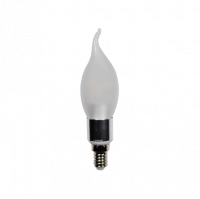 LED Flame (E14) 270° | 3W EXTRA WARM WIT | DIMBAAR | FROSTED