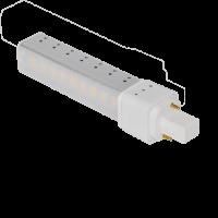 LED PL (G24D) | 6W WARM WIT | 350° DRAAIBAAR