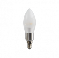 LED Candle (E14) 270° | 4W EXTRA WARM WIT | DIMBAAR | FROSTED