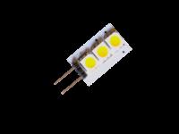 LED Spot G4-3SMD | KOUD WIT | 12V