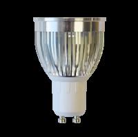 LED Spot (GU10) 38°   5W WARM WIT   DIMBAAR   ANTIGLARE