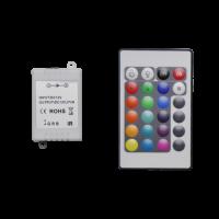 Controller incl. IR 24-key remote | RGB | 3x2A