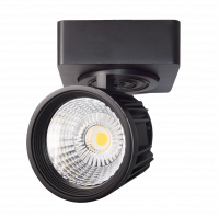 LED Trackspot 'Orlean' | 25W WARM WIT | ZWART