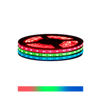 LED Strip 5050 - LUXE - IP54 RGB 24V