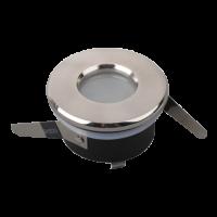 Inbouwring aluminium Module | ROND | AFGEDEKT (IP54) | Ø70mm