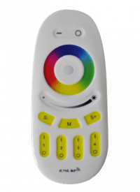 Afstandsbediening voor Controller Mi-Light 4-zone | RGBW | 12/24V