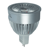 LED Spot (MR16) 24° | 5W WARM WIT | DIMBAAR | ANTIGLARE