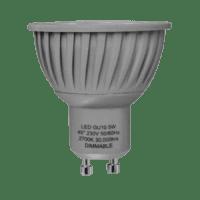 LED Spot (GU10) 40°   5W WARM WIT   DIMBAAR   GRIJS