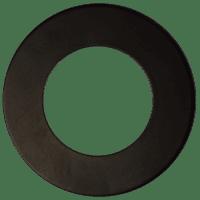 In-/opbouw ring voor 7mm Downlight 'Lily' | ZWART