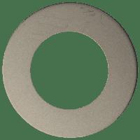 In-/opbouw ring voor 7mm Downlight 'Lily' | ZILVER