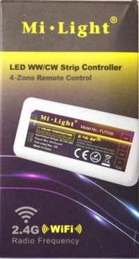 Controller Mi-Light 4-zone | CCT 3000-6500K | 12/24V
