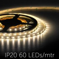 LED Strip 3528 - LUXE - IP20 WARM WIT 24V