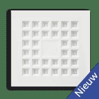 LED Vector Paneel (verzonken) | 35W NATUURLIJK WIT | 60x60cm | DIMBAAR