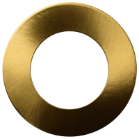In-/opbouw ring voor 7mm Downlight 'Lily' | GOUD