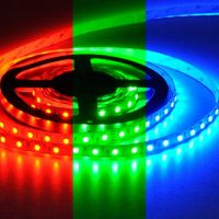 LED Strip 5050 - LUXE - IP65 RGB 24V Silicone