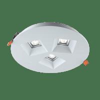 Downlight 'Vector' | 15W WARM WIT | INBOUW Ø220mm