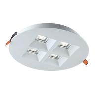 Downlight 'Vector' | 20W WARM WIT | INBOUW Ø220mm