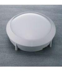 LED Bulkhead 'Edge'   14W KOUD WIT   Ø300mm WIT   Aan/uit Sensor