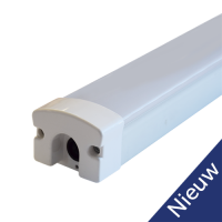 LED Triproof Fixture 120cm 30W 130lm/w 4000K with mix endcap