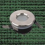 Inbouwring aluminium Module   ROND   AFGEDEKT (IP54)   Ø70mm